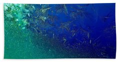 Crystal Sea Hand Towel by Danielle R T Haney