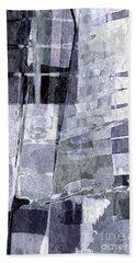 Crystal Silver Hand Towel by Tlynn Brentnall