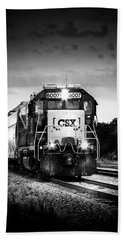 Csx 6007 Hand Towel by Marvin Spates