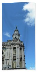 Cuba Architect And Skies Hand Towel