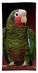 Cuban Amazon Parrot Bath Towel