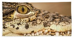 Cuban Croc Smile Hand Towel