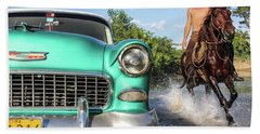 Cuban Horsepower Bath Towel