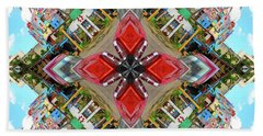 Cuban Kaleidoscope Bath Towel