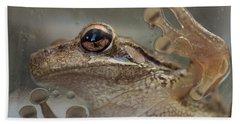 Cuban Treefrog Hand Towel