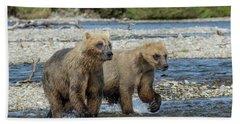Cubs On The Prowl Bath Towel