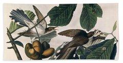Cuckoo Hand Towel by John James Audubon