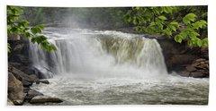 Cumberland Falls Close-up Hand Towel