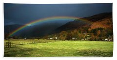 Cumbrian Rainbow Hand Towel
