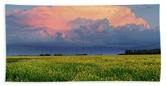 Cumulus And Canola Hand Towel