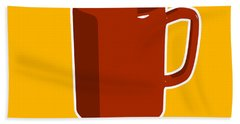 Cup Of Coffee Graphic Image Bath Towel