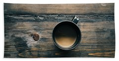 Cup Of Coffee Bath Towel