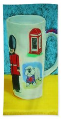 Cup Of London Java Hand Towel