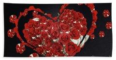 Cupcake Love Hand Towel by Afrodita Ellerman
