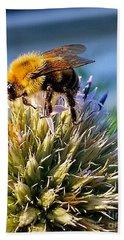 Curious Bee Bath Towel