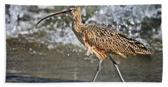 Curlew And Tides Hand Towel