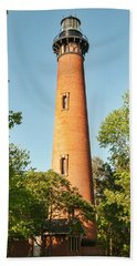 Currituck Beach Lighthouse Hand Towel