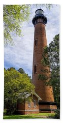 Currituck Lighthous - Corolla Outer Bank Norht Carolina Hand Towel