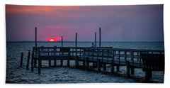 Currituck Sunset Hand Towel