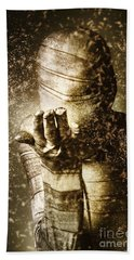 Curse Of The Mummy Hand Towel by Jorgo Photography - Wall Art Gallery