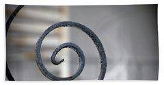 Curve Of Iron Bath Towel