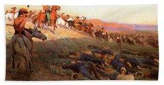 Custer's Last Stand Bath Towel