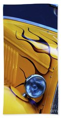 Hand Towel featuring the photograph Custom 1934  Ford Artwork by Baggieoldboy