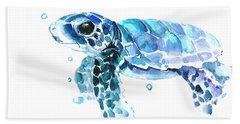 Cute Baby Turtle Bath Towel