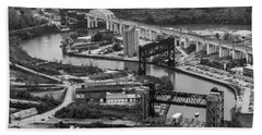 Cuyahoga River Bath Towel