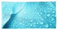 Aqua Droplets Bath Towel