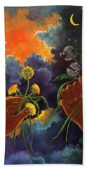 Cycle Of Life  Hands Ot Heaven Series Hand Towel