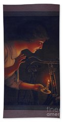 Cycles Fongers Vintage Bicycle Poster Hand Towel