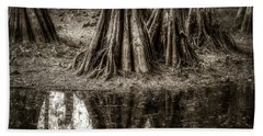 Hand Towel featuring the photograph Cypress Island by Andy Crawford