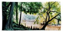 Cypress Knees Bath Towel