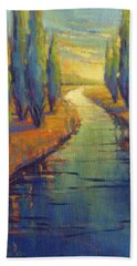 Cypress Reflection Hand Towel