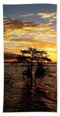 Cypress Sunset Hand Towel