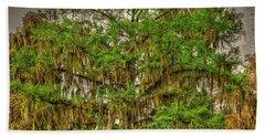 Cypress Tree Bath Towel