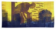 D U Rounds Project, Print 31 Hand Towel