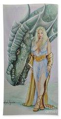 Daenerys Targaryen - Game Of Thrones Hand Towel
