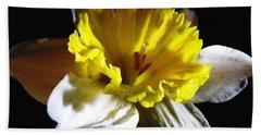 Daffodil 2 Bath Towel by Rose Santuci-Sofranko