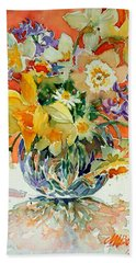 Daffs And Daisies Hand Towel