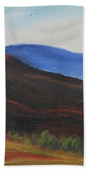 Dagrar Over Salenfjallen- Shifting Daylight Over Distant Horizon 2 Of 10_0035 50x40 Cm Hand Towel