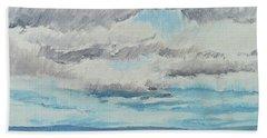 Dagrar Over Salenfjallen- Shifting Daylight Over Distant Horizon 8 Of 10_0029 Bath Towel