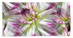 Dahlia Dreams Bath Towel