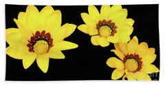 Bath Towel featuring the photograph Daisies Iv by Cassandra Buckley