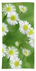 Daisies - Wild Flowers  Bath Towel