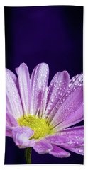 Daisy After The Rain Hand Towel