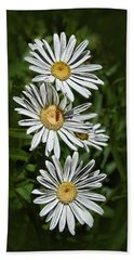Daisy Chain Hand Towel by Marie Leslie