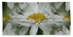 Daisy Dreams In White Hand Towel