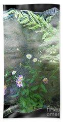 Daisy Mist Hand Towel by Elaine Hunter